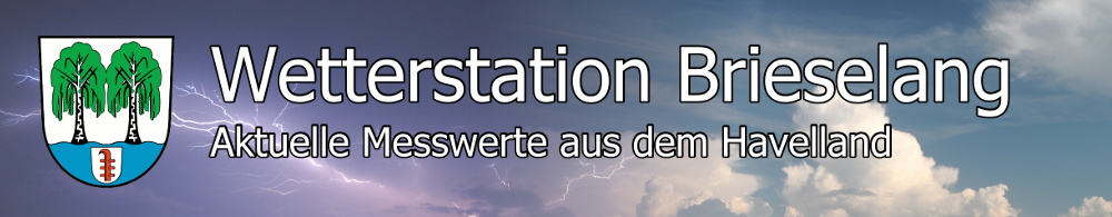 Wetterstation Brieselang - Banner